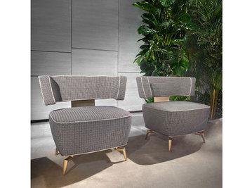 Итальянское кресло JANET.1040 фабрики CORNELIO CAPPELLINI