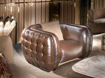 Итальянское кресло JORDAN.2150 фабрики CORNELIO CAPPELLINI