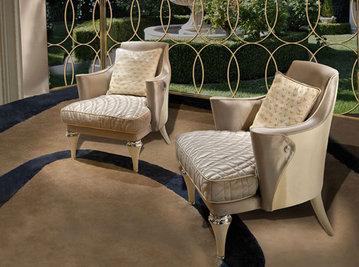 Итальянское кресло CHARLOTTE.2100 фабрики CORNELIO CAPPELLINI