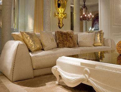Итальянский диван CELINE.2300/GOLD фабрики CORNELIO CAPPELLINI