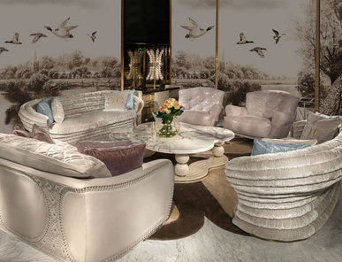 Итальянская мягкая мебель фабрики CORNELIO CAPPELLINI Композиция 01