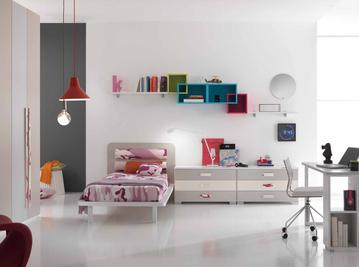 Итальянская детская спальня One Camerette 401 фабрики SP