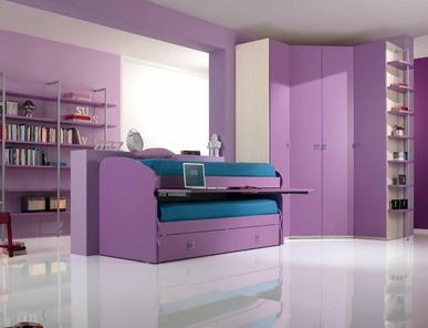 Итальянская детская спальня One Camerette 413 фабрики SP