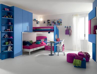 Итальянская детская спальня Web W65 фабрики SP