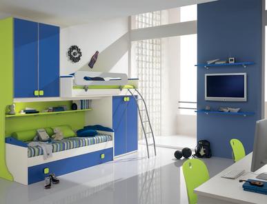 Итальянская детская спальня Web W66 фабрики SP