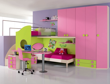 Итальянская детская спальня Web W71 фабрики SP