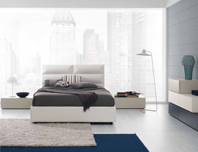 Итальянская кровать Line Up Prisma фабрики SP