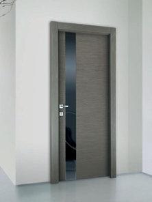 Итальянская дверь Y59 VLV BLACK фабрики AGROPROFIL