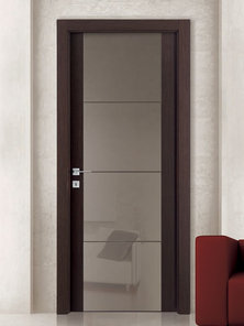 Итальянская дверь Y21 V4V SOFT BROWN фабрики AGROPROFIL