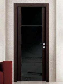 Итальянская дверь Y21 V4V BLACK фабрики AGROPROFIL