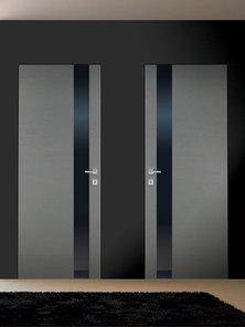 Итальянская дверь 159 VLV BLACK фабрики AGROPROFIL