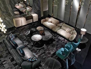 Итальянская мягкая мебель TOBAGO фабрики ROBERTO CAVALLI