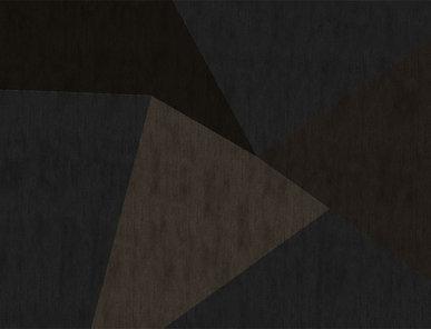Итальянский ковер GEOMETRIC - BLACK/BROWN фабрики ROBERTO CAVALLI