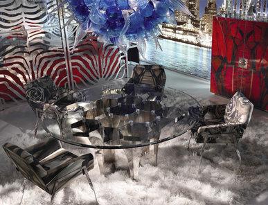 Итальянская столовая фабрики ROBERTO CAVALLI Композиция 01
