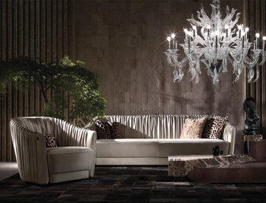 Итальянская мягкая мебель SHARPEI фабрики ROBERTO CAVALLI