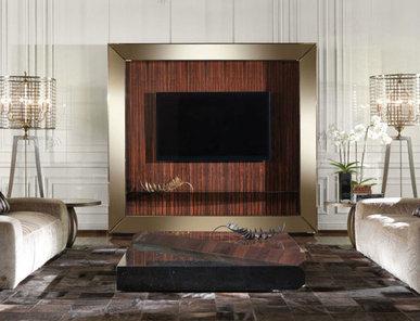Итальянская мебель для ТВ SELFIE фабрики ROBERTO CAVALLI