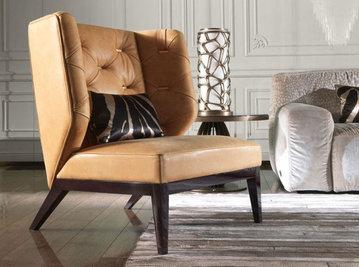 Итальянское кресло BERCHET фабрики ROBERTO CAVALLI
