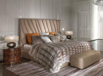 Итальянская кровать SAHARA.4 фабрики ROBERTO CAVALLI