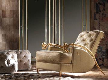 Итальянское кресло SNAKE фабрики ROBERTO CAVALLI