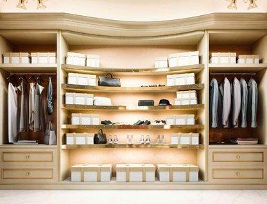 Итальянская гардеробная PARIS фабрики BRUNO ZAMPA