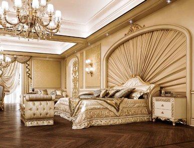 Итальянская спальня VENICE фабрики BRUNO ZAMPA Композиция 01