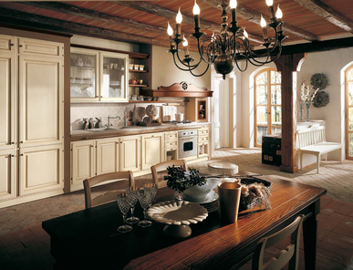 Итальянская кухня Il Canto Del Fuoco 11 фабрики Martini Mobili