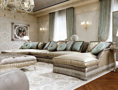 Итальянский диван MOSCOW фабрики BRUNO ZAMPA