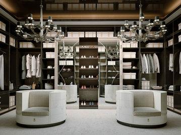 Итальянская гардеробная LONDON фабрики BRUNO ZAMPA
