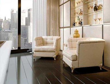 Итальянское кресло NEW YORK фабрики BRUNO ZAMPA