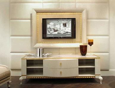 Итальянская мебель для ТВ DUKE фабрики BRUNO ZAMPA