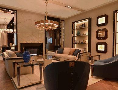 Итальянская гостиная MILANO 2015 фабрики BRUNO ZAMPA Композиция 01