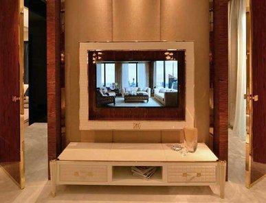 Итальянская мебель для ТВ REMINGTON фабрики BRUNO ZAMPA