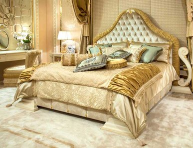 Итальянская кровать PENELOPE фабрики BRUNO ZAMPA