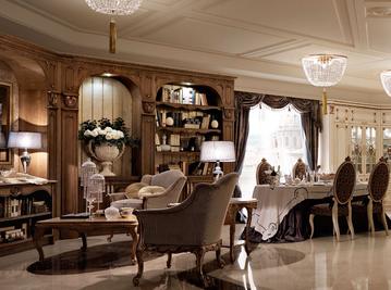 Итальянская гостиная Palazzo storico a Firenze фабрики Martini Mobili