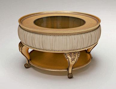 Итальянский круглый столик PASSEPARTOUT фабрики BRUNO ZAMPA