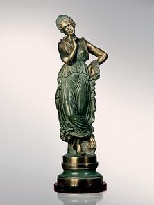 Итальянская бронзовая статуя Winner Venus фабрики Fonderia Artistica Ruocco