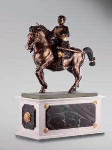 Итальянская бронзовая статуя Gattamelata фабрики Fonderia Artistica Ruocco
