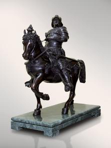 Итальянская бронзовая статуя Colleoni I фабрики Fonderia Artistica Ruocco