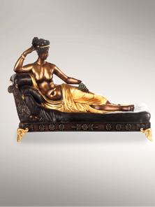 Итальянская бронзовая статуя Paolina Borghese фабрики Fonderia Artistica Ruocco