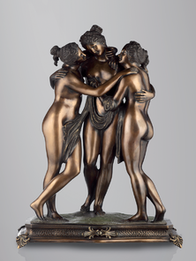 Итальянская бронзовая статуя The three Graces фабрики Fonderia Artistica Ruocco