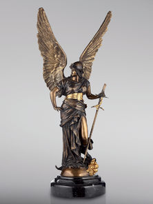 Итальянская бронзовая статуя Victory фабрики Fonderia Artistica Ruocco