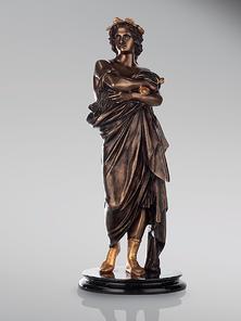 Итальянская бронзовая статуя Virgil фабрики Fonderia Artistica Ruocco