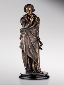 Итальянская бронзовая статуя Ludwig van Beethowen фабрики Fonderia Artistica Ruocco