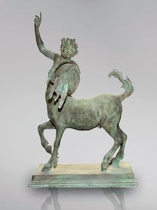 Итальянская бронзовая статуя Pair of Centaurs фабрики Fonderia Artistica Ruocco