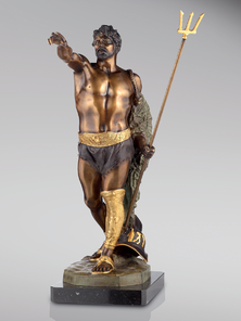 Итальянская бронзовая статуя Hail, Caesar! фабрики Fonderia Artistica Ruocco
