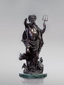 Итальянская бронзовая статуя Neptune фабрики Fonderia Artistica Ruocco