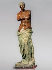 Итальянская бронзовая статуя Venus de Milo фабрики Fonderia Artistica Ruocco
