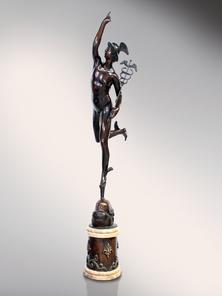 Итальянская бронзовая статуя Flying Mercury фабрики Fonderia Artistica Ruocco