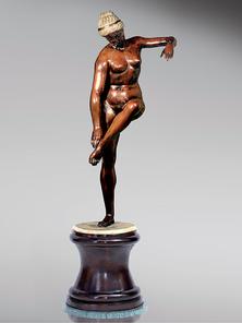 Итальянская бронзовая статуя Athenian Venus  фабрики Fonderia Artistica Ruocco