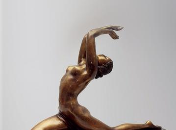 Итальянская бронзовая статуя French woman dancer фабрики Fonderia Artistica Ruocco